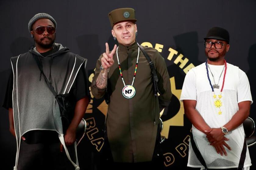Con una serie de eventos culturales y un concierto de la banda The Black Eyed Peas, la ciudad de Los Ángeles celebra hoy por primera vez el Día de los Pueblos Indígenas, que ha sustituido al Día de Colón por decisión del Concejo municipal. EFE/Archivo