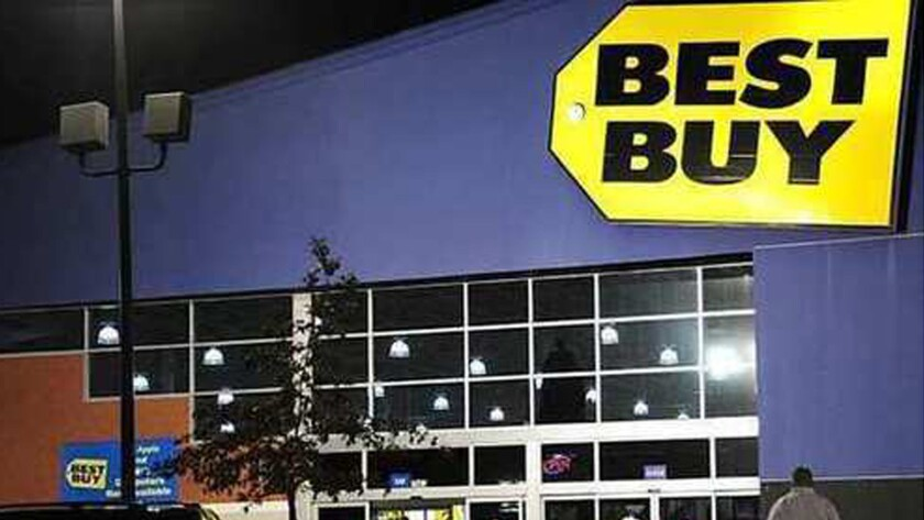 Best Buy is sharing its space with dedicated Verizon and AT&T stores.