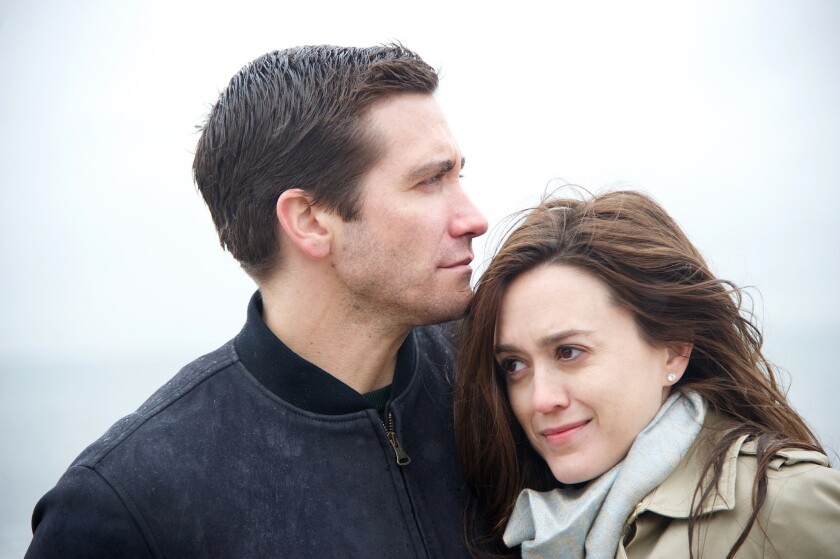 "Jake Gyllenhaal and Heather Lind in ""Demolition."""