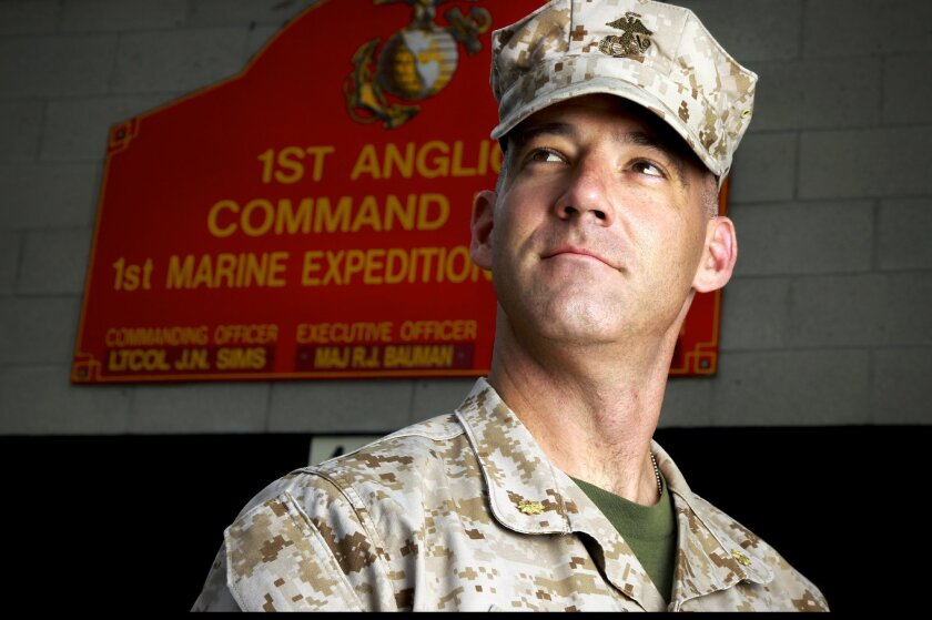 Marine Corps Major Ryan Bauman, Executive Officer for the 1st Air Naval Gunfire Liaison Company (ANGLICO) at Camp Pendleton, talks about the integration of women in his unit.