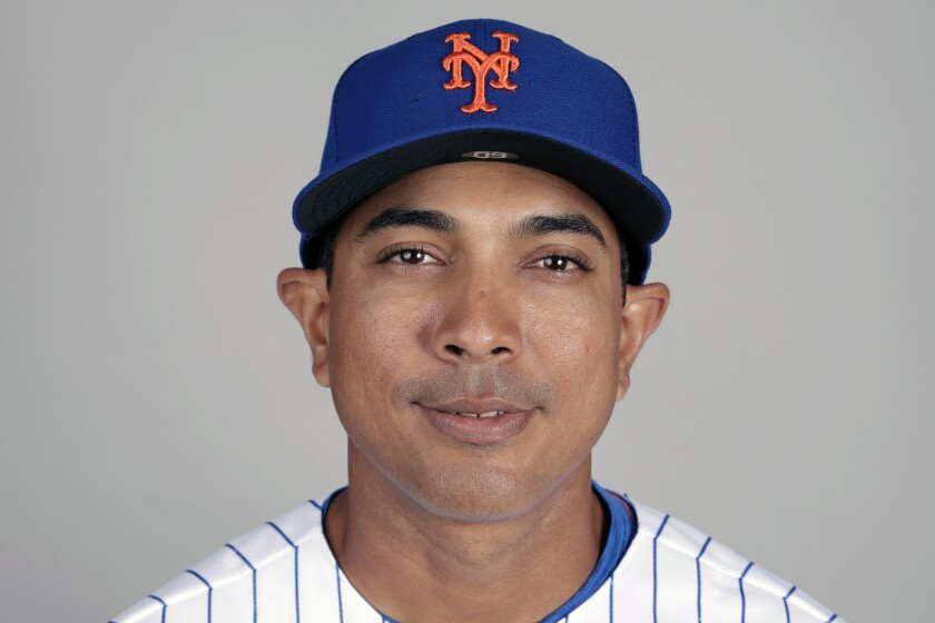 Luis Rojas will replace Carlos Beltrán, who left the team last week before managing a single game as part of the fallout from the Astros' sign-stealing scandal.
