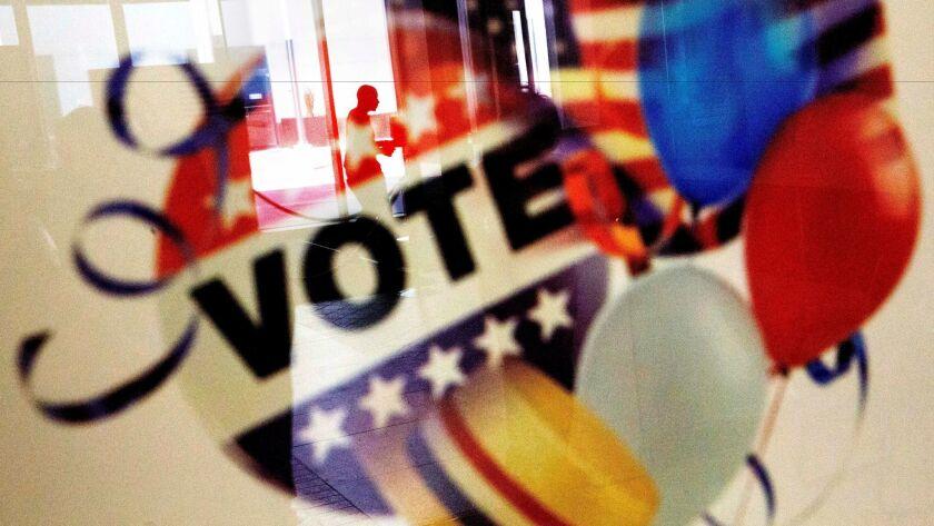 Early voting in Atlanta