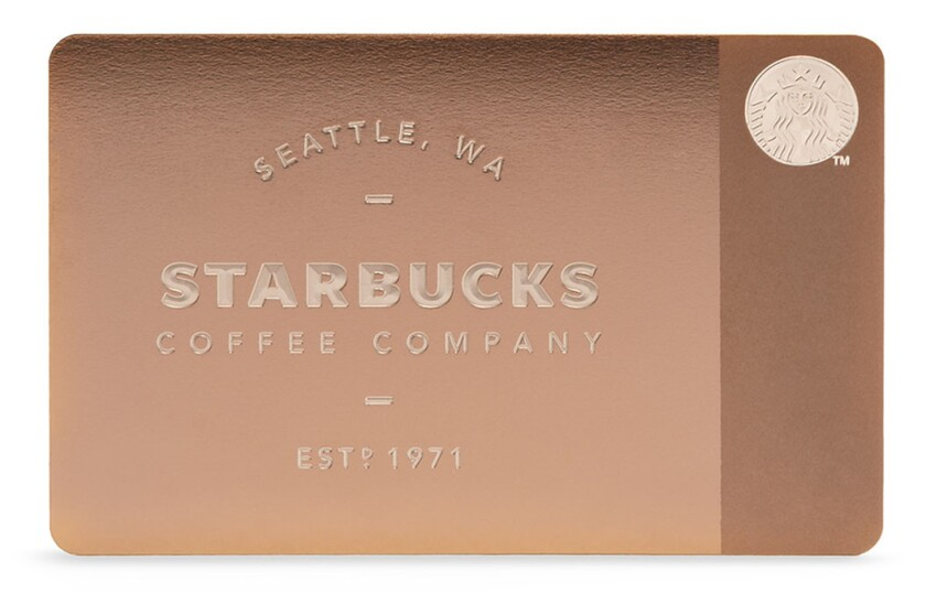 Starbucks has released a $450 all-metal gift card.