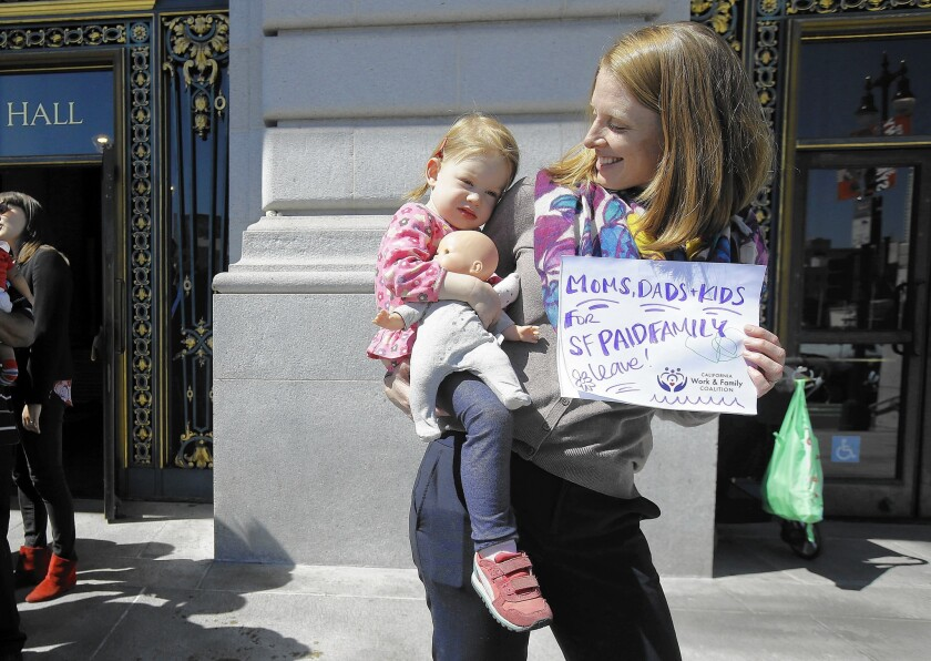 San Francisco paid family leave