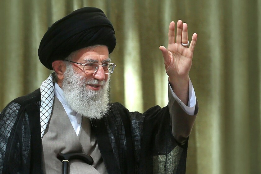 Hello, Donald? This is the ayatollah calling