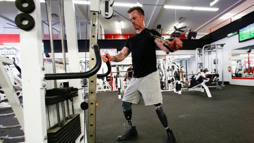 On June 13, 2012 Chris Van Etten lost both his legs while serving in Sangin, Afghanistan as an infantryman with the Marines.