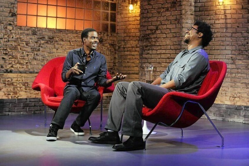 Winter TCA: W. Kamau Bell gets talk-show lessons from Chris Rock