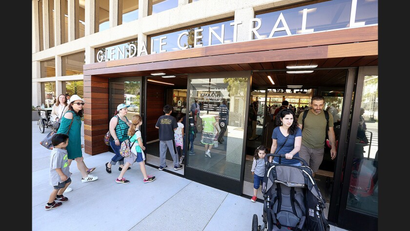 Photo Gallery: Glendale Downtown Central Library reopens
