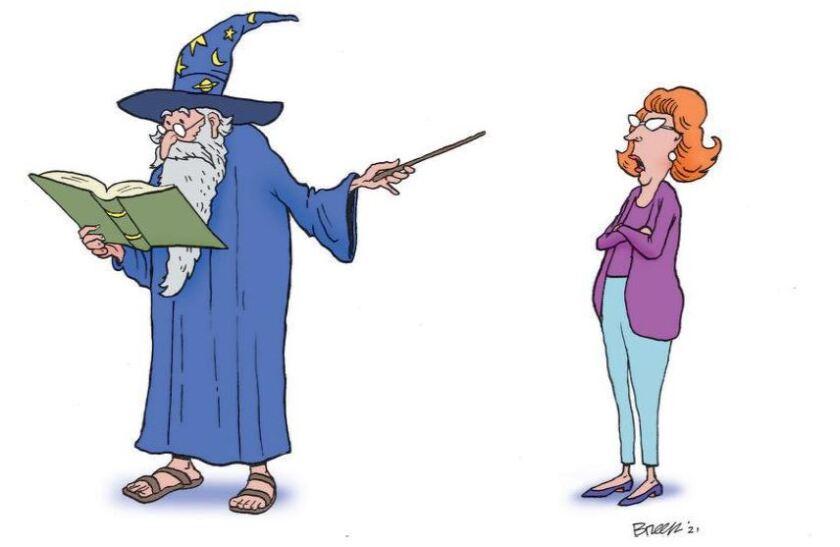 breen magician