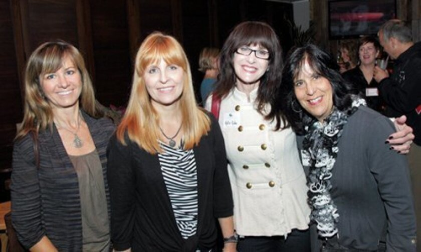 Danielle Martin, Joanne Couvrette (Exec Dir of the CCA Foundation), Holly Kahn, Iris Halpern