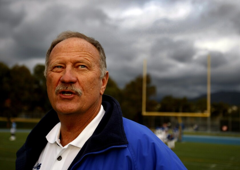 Harry Welch retired after the 2013 season at Santa Margarita.