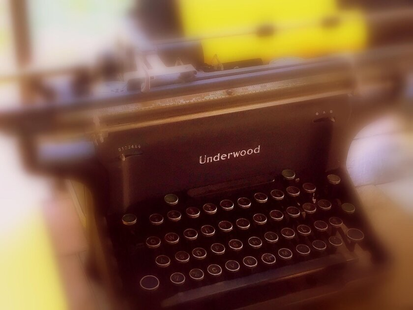 Author and poet Charles Bukowski used an Underwood Standard, among other typewriters. It's made for heavyweight writing.