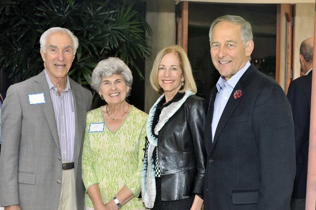 Jere and Joyce Oren, Rosemary and Michael Harbushka