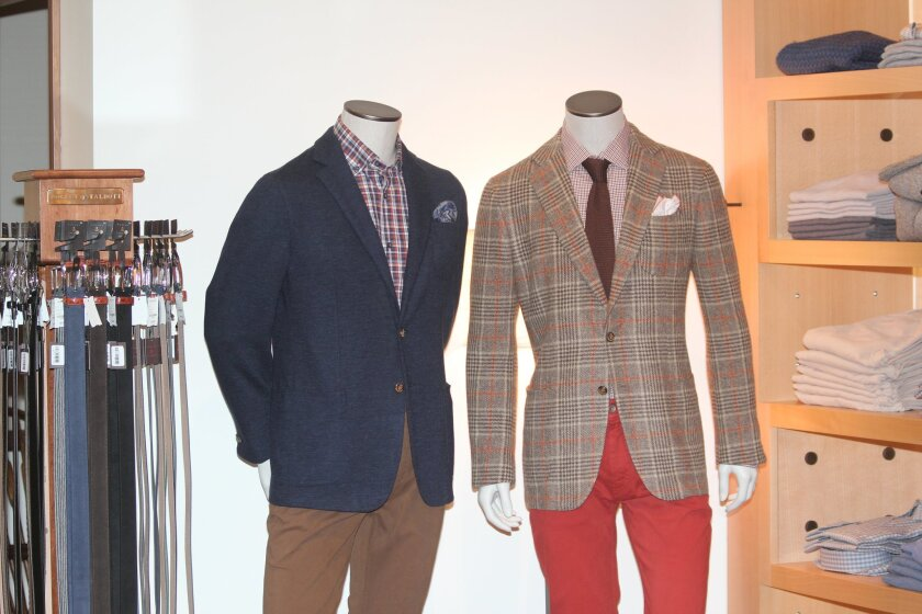Luxury fashions from the Robert Talbott collection are available at the Ascot Shop, 7750 Girard Ave.