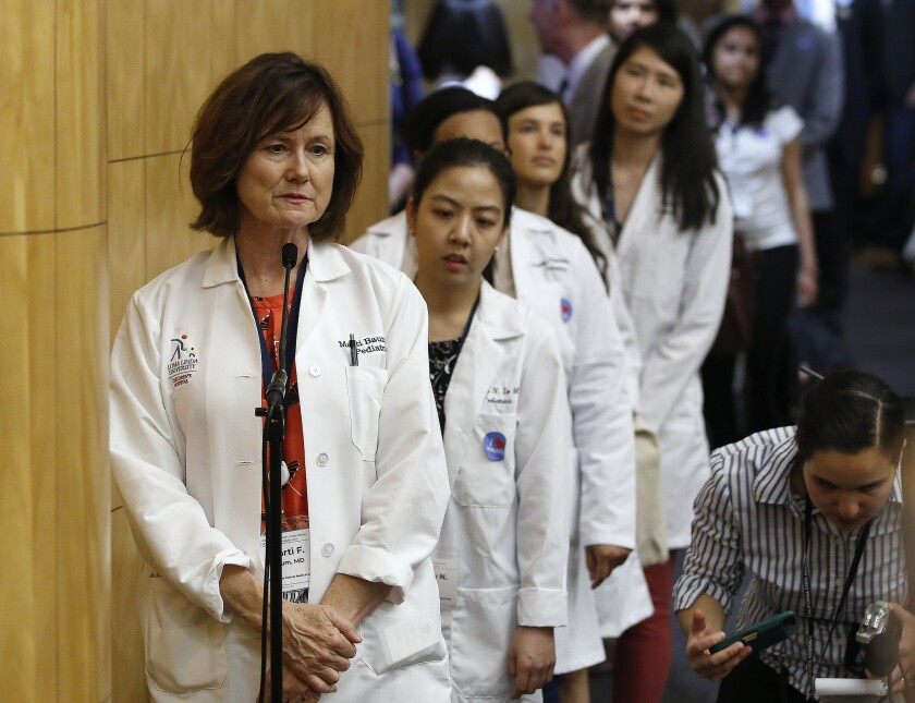 A new skirmish in the California vaccination wars breaks out