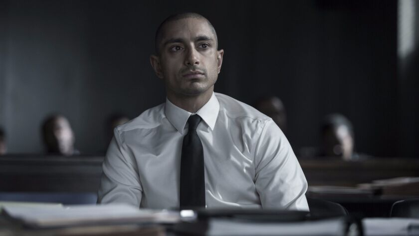 "Riz Ahmed in a scene from HBO's ""The Night Of."""
