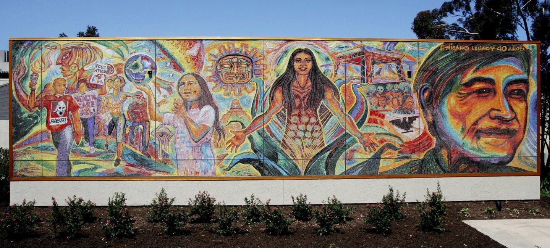 Mosaic by artist Mario Torero