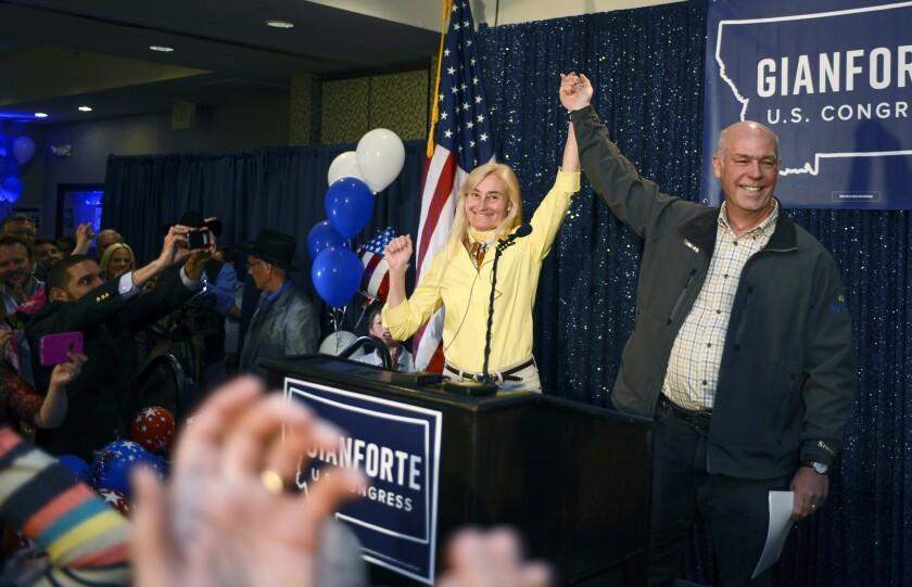 Montana Republican Greg Gianforte is headed to Congress despite facing a misdemeanor charge of assau