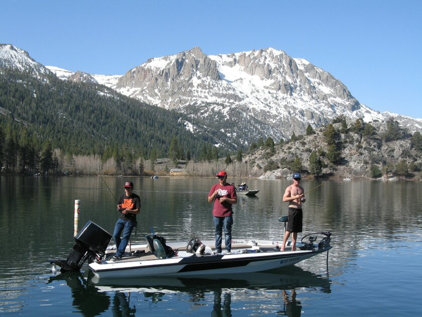 Early spring thaw ignites Eastern Sierra trout fishing - The
