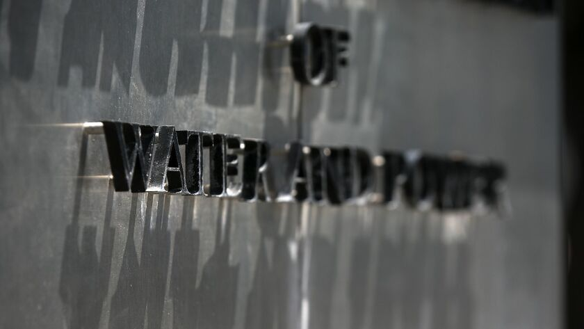 The Los Angeles Department of Water and Power (DWP) building.