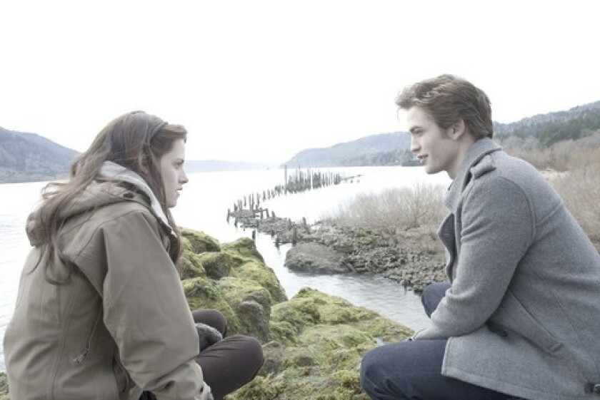 Director Hardwicke uses the natural beauty of Oregon to frame the budding relationship between Bella (Kristen Stewart) and Edward (Robert Pattinson).
