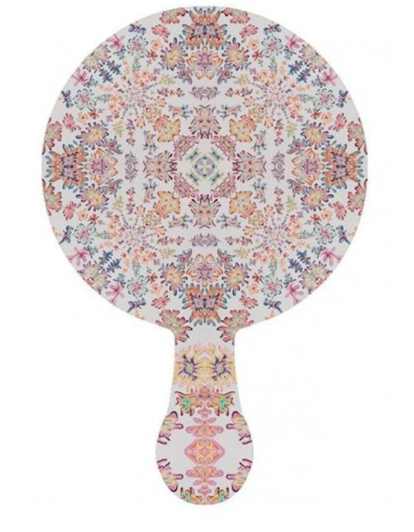 Artist Kelsey Brooks designed the auction's special edition paddle. Courtesy