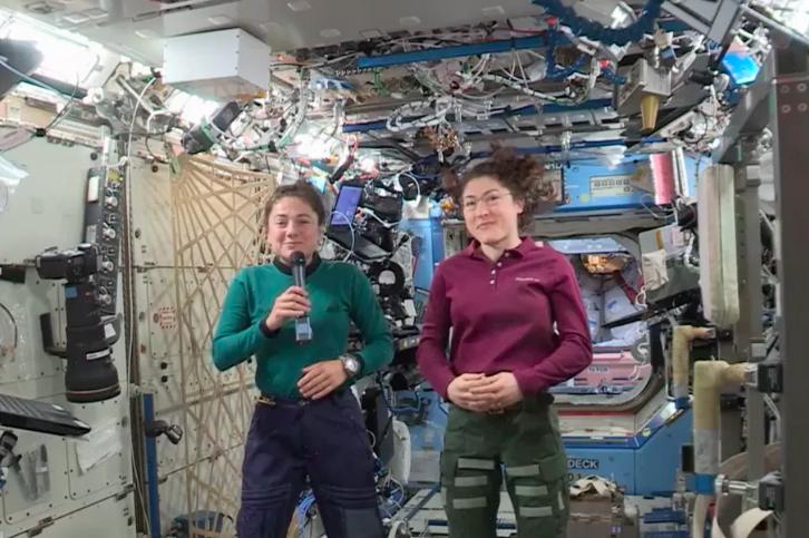 UCSD alum Jessica Meir prepares for first all-female spacewalk
