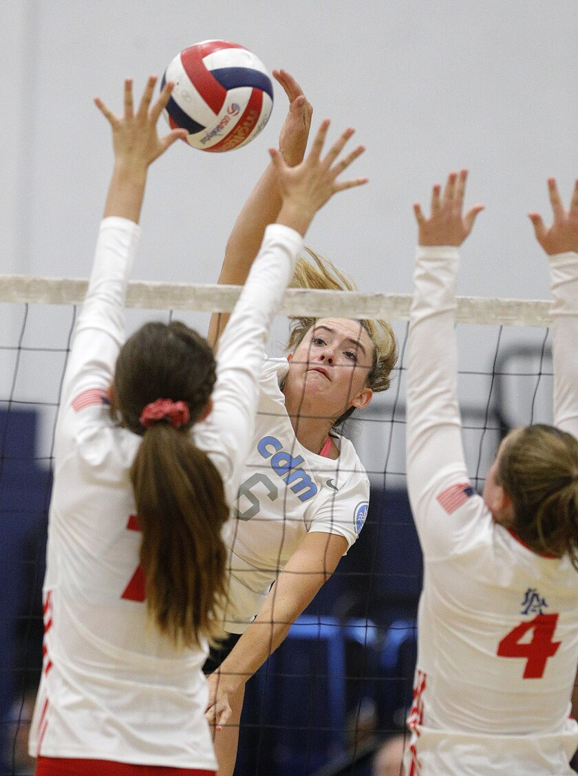 Los Al Girls VB falls in five to Corona Del Mar