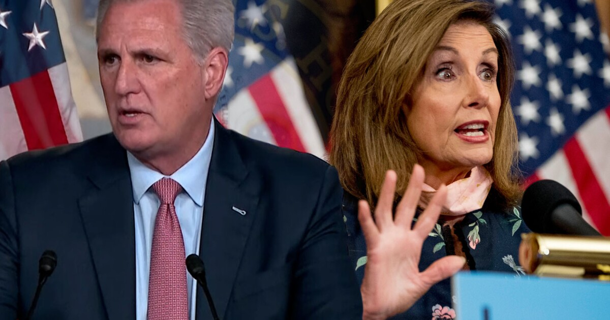 Pelosi and McCarthy relationship hits a new low