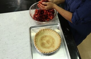 Chef Roxanna Jullapat reveals how to make an easy pie crust