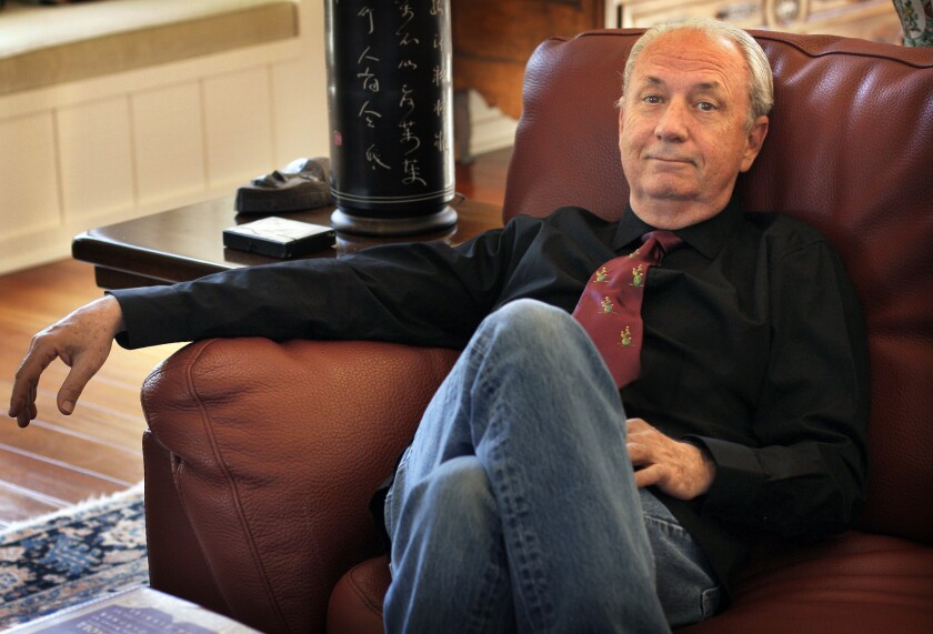 A portrait of Michael Nesmith.