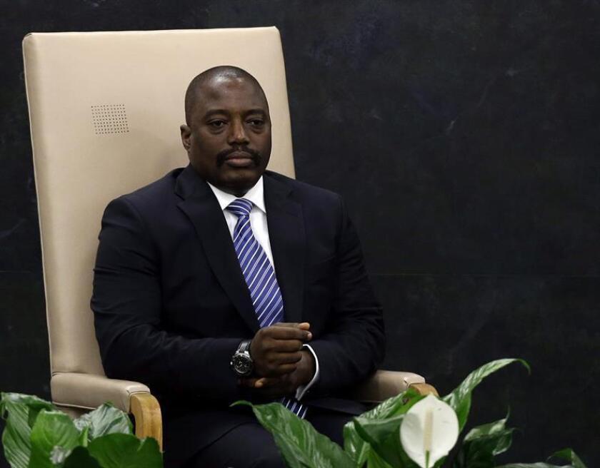 El presidente del Congo, Joseph Kabila. EFE/Archivo