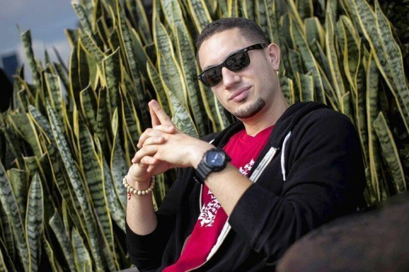 Omar Offendum, 30, is a Syrian-American Rapper based in Los Angeles, who has been an outspoken critic of Syrian President Bashar al-Assad's regime.