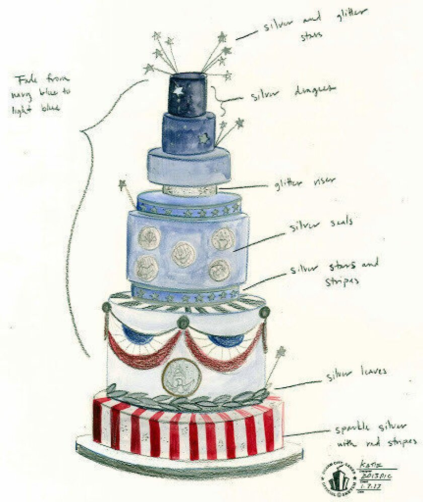 Inauguration 2013: The big cakes of the inaugural balls