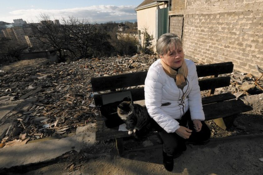 """""""There is nothing I hate so much as these Olympic Games, which made me and my family a miserable bunch of bums,"""" said Sochi resident Nina Toromonyan, 63, whose family lost its home and land."""