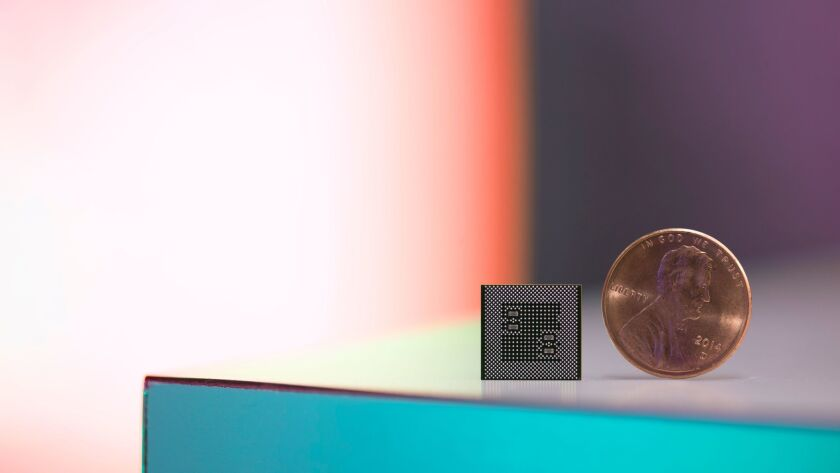 Qualcomm's new Snapdragon 835 processor is one third smaller than its predecessor, the Snapdragon 82