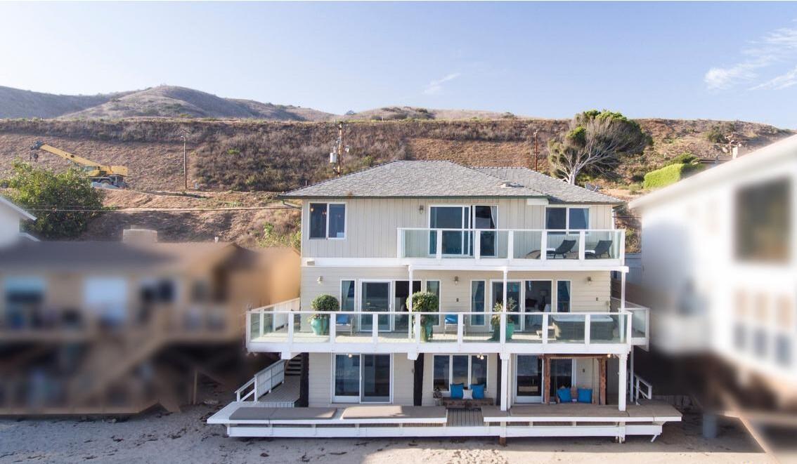 Jeremy Piven's Malibu beach house