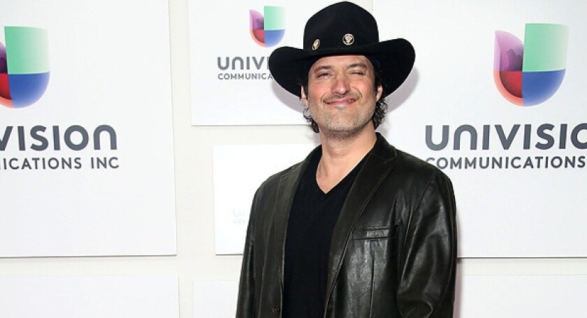 Robert Rodriguez attends the 2013 Univision upfront presentation.