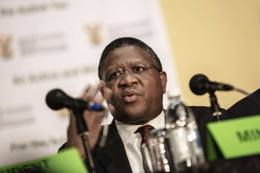 South African sports minister Fikile Mbalula denied any wrongdoing over allegations that huge bribes were paid during the process to select the host country for the 2010 World Cup.