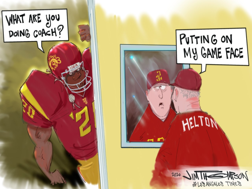USC ready for another game.