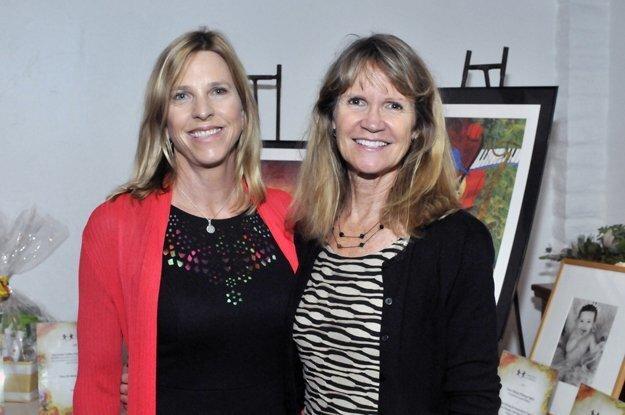 Conner's Cause for Children board member Tracy Bennett, Founder Judy Champ