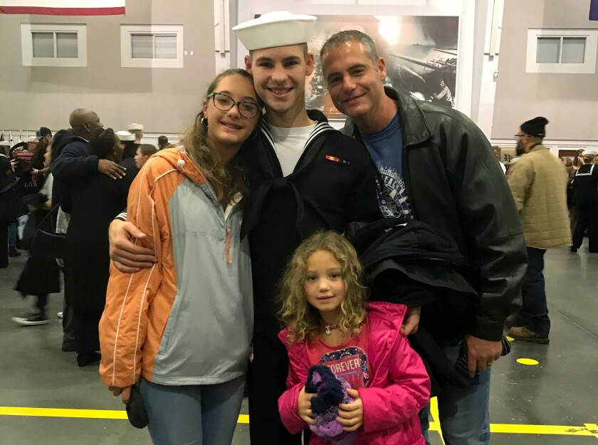 Cameron Walters and family
