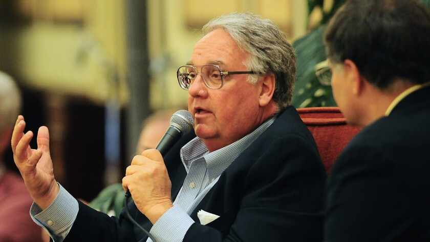 Howard Buffett, in file photograph, has used his charitable foundation to support various causes, including development projects and bolstering police agencies.