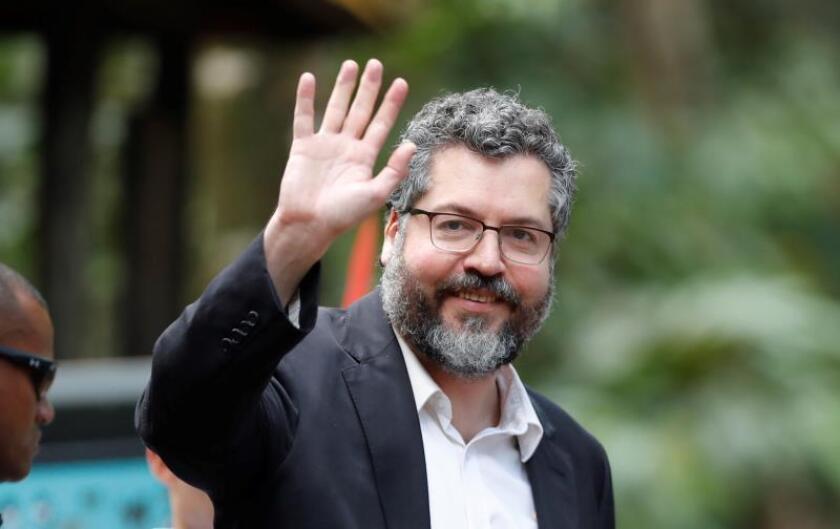 Canciller brasileño se reúne con autoridades económicas de EEUU en Washington