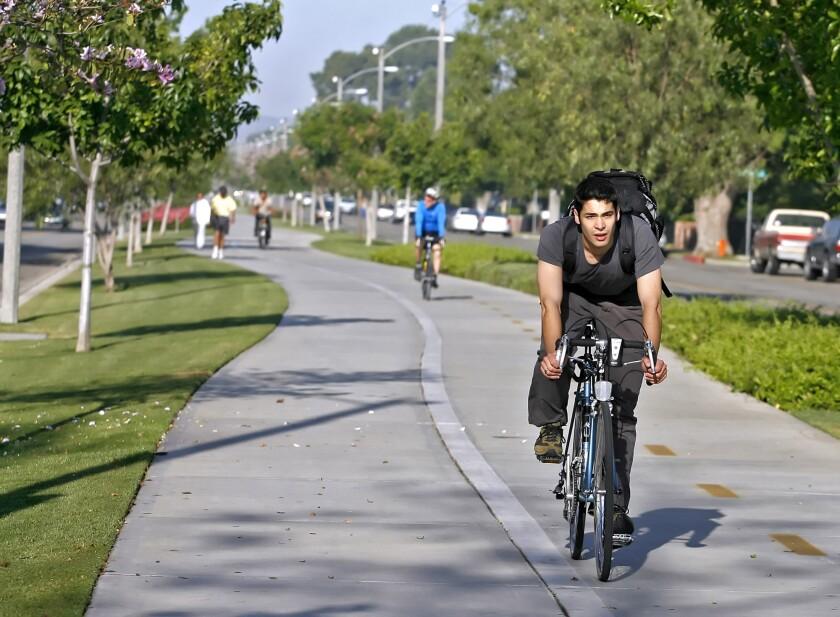 Chandler Bikeway in Burbank