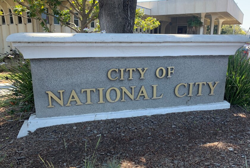 City Hall in National City