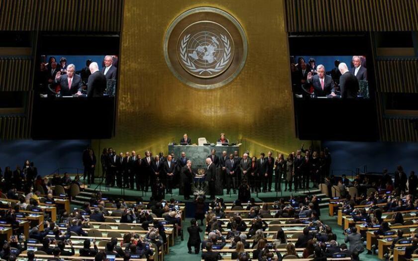 La ONU dijo hoy que ha recibido garantías por parte de Estados Unidos de que sus empleados no se verán afectados por el veto impuesto a la entrada de ciudadanos de siete países de mayoría musulmana. EFE/ARCHIVO