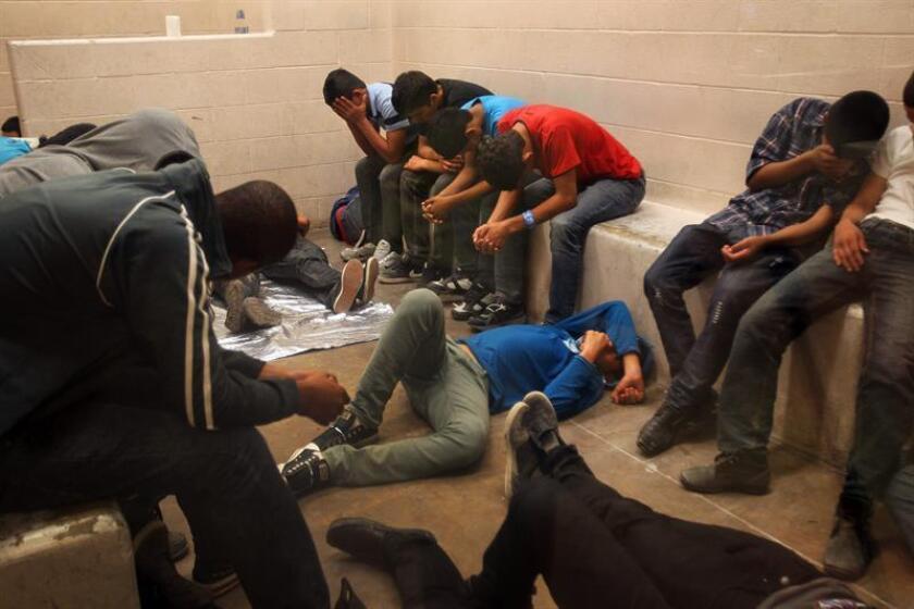 Las autoridades informaron hoy que un total de 101 personas fueron detenidas en el estado de Nueva Jersey dentro de una operación de cinco días contra inmigrantes en situación irregular. EFE/ARCHIVO