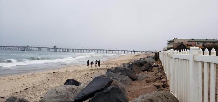 Una playa de Imperial Beach