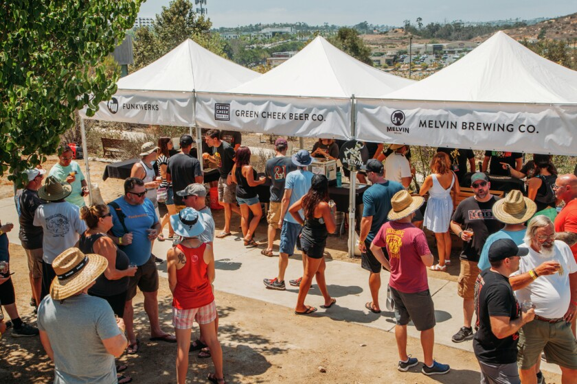 Stone's annual beer festival features 50-odd breweries and more than 100 beers.